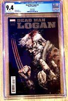 Dead Man Logan #4 CGC 9.4 Zaffino 1:25 Incentive Variant Wolverine HOT!!