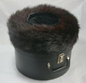 Jewish Fur Hat - Shtreimel in Bruce Hat Box / Case - Small - Judaica - #1