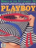 PLAYBOY OCTOBER 1986 Sachiko Katherine Hushaw Brandi Brandt Women of Ivy League