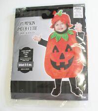Pumpkin Patch Cutie 2 Piece Costume Infant Boys Sz 0-6 months - New