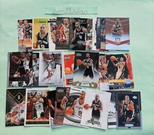 26 Tony Parker Cards Inserts Paraelel Spurs France NBA Super⭐🏀🔥😲