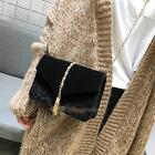 Vintage Women Velvet Satchel Handbag Girl Tote Messenger Shoulder Crossbody Bag