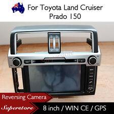 "8"" Car Radio CD DVD Player Nav GPS For Toyota Land Cruiser Prado 150 2014-2016"