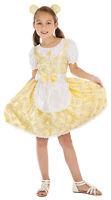 Girls Kids Childs Goldilocks Fairy Tale Fancy Dress Costume Book Day Week 3-13