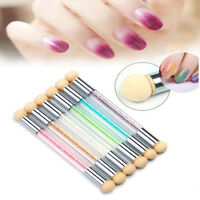 Crystal Nail Art UV Gel Acrylic Pen Brush Dotting Painting Drawing Polish Tools