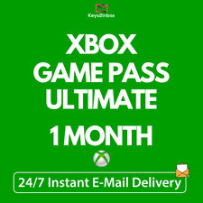 Xbox Game Pass Ultimate 1 Month Membership Code - Xbox one, PC - Instant to ebay