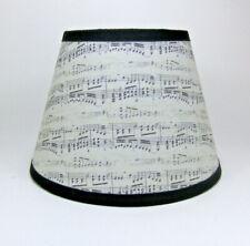 Sheet Music Musical Note Antique Fabric Handmade Lampshade Lamp Shade