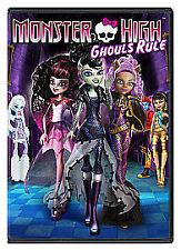 Monster High - Ghouls Rule (DVD, 2012) New Sealed. Freepost In Uk. Region 2 Uk.