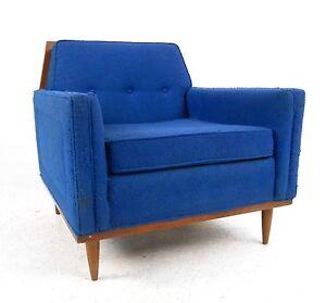 Mid-Century Modern Lounge Chair (1394)NJ
