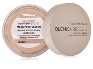 bareMinerals Blemish Rescue Skin-clearing Loose Powder Medium Beige 2.5N  0.21oz