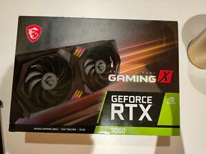 End 25/4! MSI GeForce RTX 3060 Gaming X 12Gb (GDDR6/PCI Express 4.0/1837MHz)