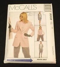 McCalls 9008 Lined Jacket, Lined Vest, Pants & Skirt sz 18
