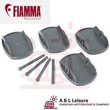 Fiamma PLATES PRO GREY (97901-057) Jack Pads Pro Caravan Feet Corner Steady x4
