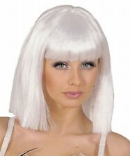 Widmann - Parrucca Stile Showgirl bianca