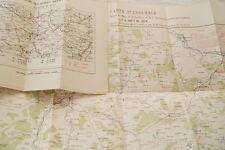 EPISODES GUERRE DE 1870 BLOCUS DE METZ EX-MARECHAL BAZAINE 1883 CARTES RELIURE
