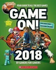 GAME ON! 2018 - SCHOLASTIC INC. (COR) - NEW PAPERBACK BOOK