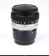 Lens Menopta 1.8/53mm for Kiev Zorki