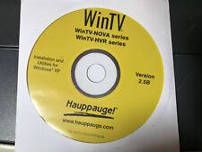 Genuine WinTV WinTV-NOVA WinTV-HVR Series Hauppauge logiciel v2.5B Disque Seulement