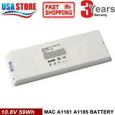 "A1185 Battery For Apple MacBook 13"" 2006~2009 Laptop A1181 MA561 MA566 White"