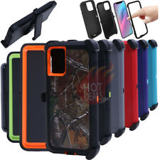 For Samsung Galaxy S20/S20 Plus/S20 Ultra Defender Case(With Clip fits Otterbox)
