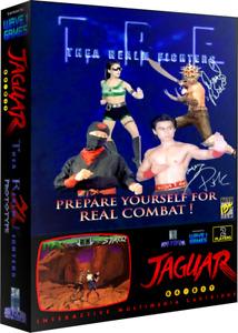 Thea Realm Fighters Atari Jaguar Prototype Game