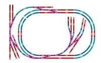 Hornby R7276 Medium Sized Oval Layout Complete Track Pack OO Gauge
