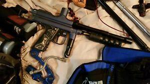 Paintball Autococker Gun. Rare! Girl Handle. Prophecy Hopper Empire Spider LOT