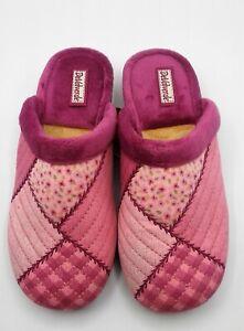 Ladies Scuffs -  DeValverde - 117 Berenge  (Pink - Patchwork