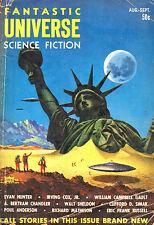 39 Vintage Pulp Magazines FANTASTIC UNIVERSE Science Fiction 1950's {.pdf DVD}