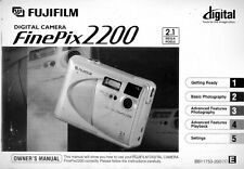 Fujifilm Finepix 2200 Original Operating Manual Instructions User Guide Book