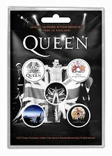 QUEEN - OFFICIAL BADGE SET BUTTON-SET Freddy