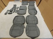 Leather Seat Covers Interior Fits Mazda 5 Mazda5 2006-2010 Grey V60