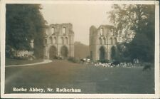 Rotherham, Roche abbey; Real photo