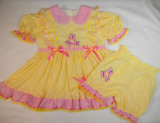 Adult Baby Sissy My Little Pony FLUTTERSHY Dress Set Binkies_n_Bows