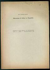 RESTA GIORGIO MECCANISMI DI DIFESA IN PIRANDELLO RIVISTA PSICOANALISI 1958