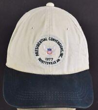 Beige Presidential Conversion 1977 Embroidered Baseball hat cap adjustable Strap
