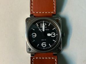 Bell & Ross BR01-92 S Stainless Steel Automatic 46mm - lovely big watch REDUCED