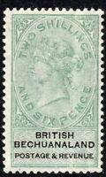 Bechuanaland 1888 green/black 2/6d mint  SG17