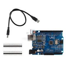 UNO R3 ATmega328P CH340G Board + USB Cable for Arduino Robotics CNC DIY Kit