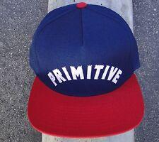Primitive Apparel Skateboard Navy/Red Snapback Mens Hat CapHTPRM-225