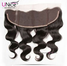 8A Peruvian Body Wave Human Hair 13*4 Ear To Ear Lace Frontal Closure US Stock