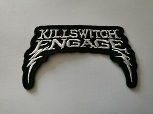 Killswitch Engage Patch Sew On & Iron On Pop Punk Heavy Metal Rock Patch