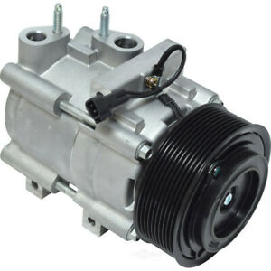 A/C Compressor-Shelby GT500, VIN: S, DOHC, MFI, Electronic, Supercharged UAC