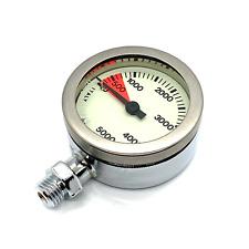 H2Odyssey Techline Spg Scuba Diving Psi Pressure Gauge