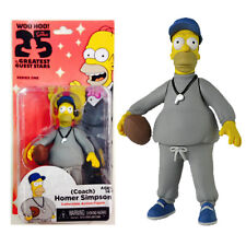 "NECA THE SIMPSONS SERIES 1 COACH HOMER 25th ANNIVERSARY 5"" COLLECTIBLE FIGURE"