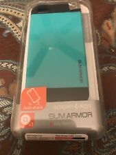 Genuine Spigen Slim Armor iPhone 5 . Brand New sealed in its box . Terquoise