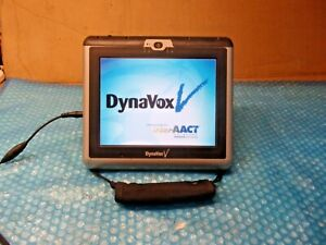 DynaVox V/Vmax Portable Touch Screen Speech Aid Communicator~ TESTED AND IT WORK