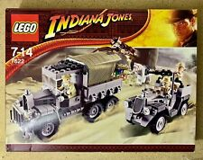 LEGO 7622 INDIANA JONES RACE FOR THE STOLEN TREASURE NEW SEALED