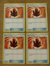 Pokemon 4 Fire Crystal playset - NM