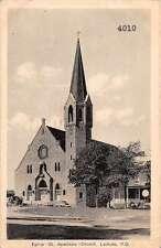 Lachute Quebec Canada St Anatasie Church Exterior View Antique Postcard J66209